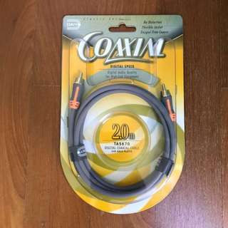 Digital Coaxial Audio Cable