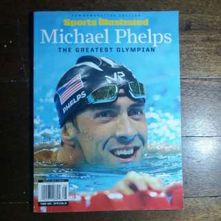 Michael Phelps | Sports Illustraed Commemorative Edition