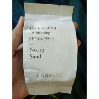 REFILL laneige whitening bb cushion no. 23