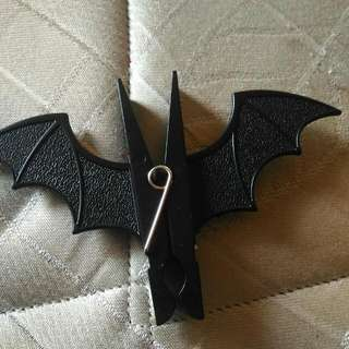 Bat Shaped Clothes Peg