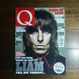 Liam Gallagher (Oasis) | Q Magazine October 2016