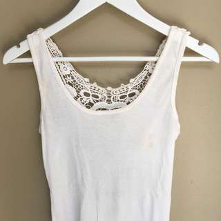 Delicate Cutout Tank Top