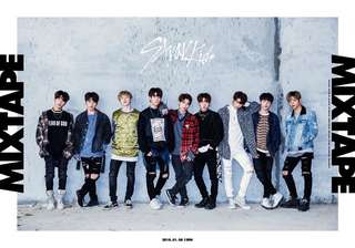 Stray Kids - Mixtape Album Poster