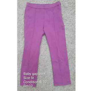 Preloved baby gap pants