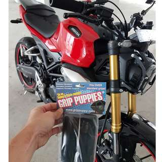 GRIP PUPPIES INSTALLED ON HONDA EX-MOTION 150 ON 16/2/2018