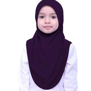 Aira Kamilia Ume Hijab in mangosteen purple