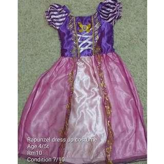 Rapunzel Girl play up Dress