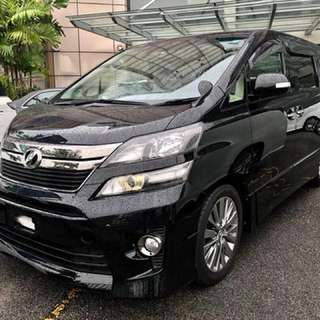Vellfire Golden Eye (A) 2.4 Sunroof