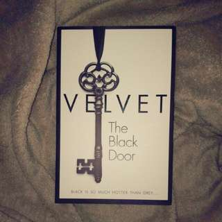 Velvet The Black Door