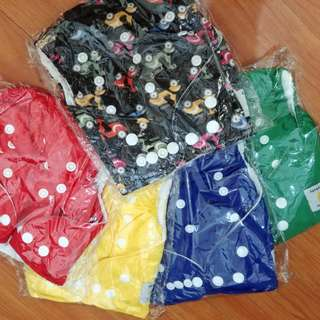 Cloth Diapers (set of 5) with free inserts