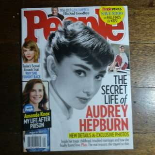 Audrey Hepburn | People Magazine August 2017