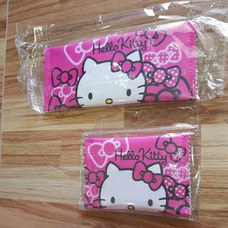New 2-in-1 Hello Kitty Phone Wallet/Coin Purse (Fuschia Pink)
