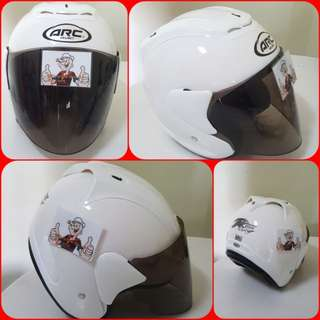 1702***ARC Ritz Helmet For Sale 😁😁Thanks To All My Buyer Support 🐇🐇 Yamaha, Honda, Suzuki