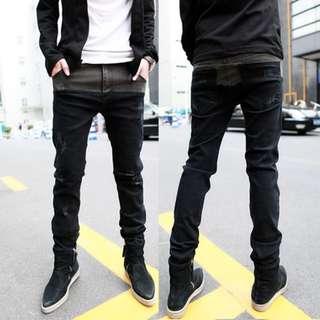Hot Black Pants