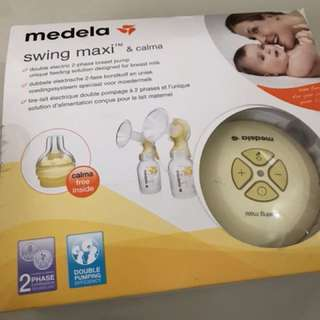 Medela swing maxi breastpump dual twin breast