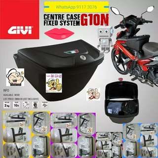 1702**--GIVI Front Box G10N With Key Lock...Yamaha Sniper, Yamaha jupiter, Spark, Yamaha 125Z, Yamaha Sniper 150, Honda Wave Etc.