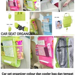 Car set organizer