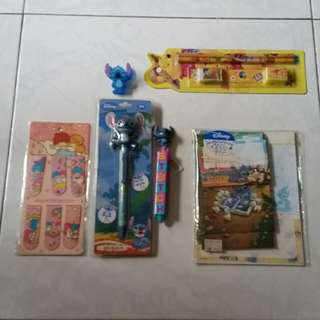 Assorted character stationery