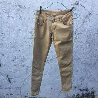Tan Jeans