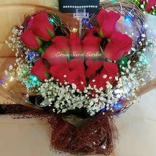 Flower bouquet/anniversary bouquet/ birthday bouquet