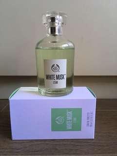 The body shop perfume WHITE MUSK L'EAU 100ml edt