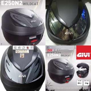 1702**----GIVI Box [E250 n2] Brand New, for Sale **** (YAMAHA JUPITER,SPARK, HONDA, SUZUKI, ETC)
