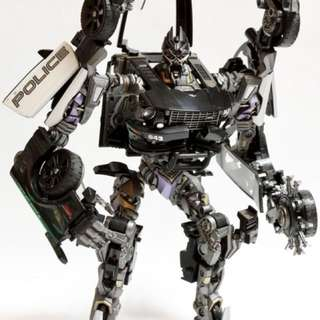 Transformers Human Alliance Decepticon Barricade