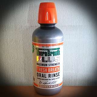 Therabreath Plus Mouth Rinse Maximum Strength