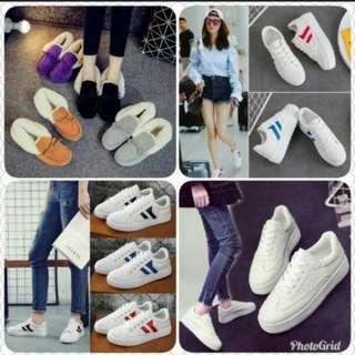 (2對/2pairs) 韓版女士學生休閑鞋 (有碼有色) (20001系列) (包Buyup自取站取貨) (shoes for ladies)