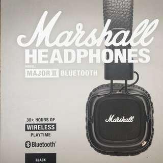 Marshall Major II Bluetooth Headphone