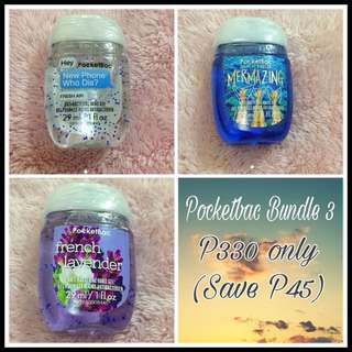 Bath and Body Pocketbac Bundle - P330 only - Save P45