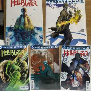 Hellblazer set NM condition