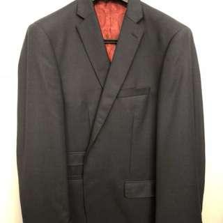 Hallensteins 100% Merino Suit- Navy