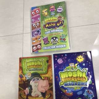Moshi Monsters 153x Cards & Magazines