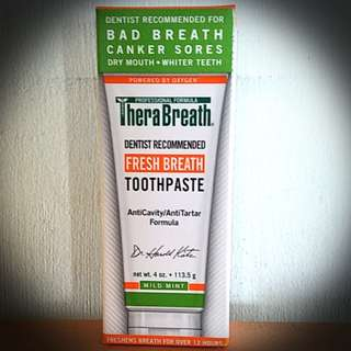 Therabreath Toothpaste (cheaper than Wastons)