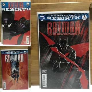 Batman Beyond Rebirth Set NM
