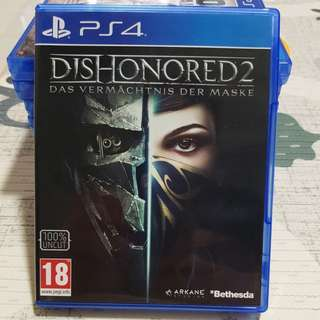 PS4 Dishonored 1 & 2