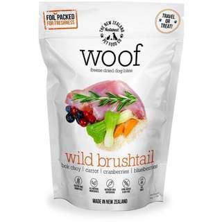 WOOF Wild Brushtail Freeze Dried Dog Treats 50g