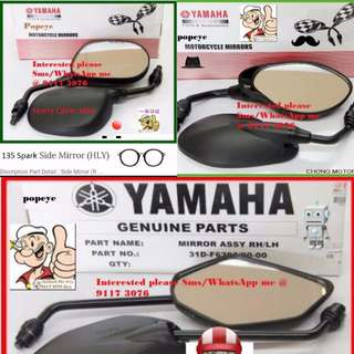 1702** YAMAHA Genuine Parts **Side Mirror** Spark, FZ16, Jupiter MX, SNIPER 150, Etc....