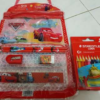 Cars Stationery Set...