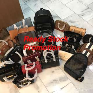 (15/2/18)Ready Stock on hand authentic Coach Wallet men women purse handbag sling bag crossbody bag