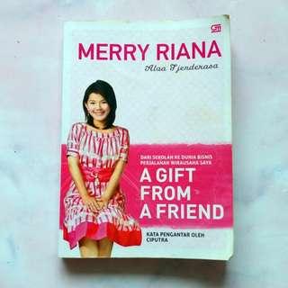 Buku Motivasi Merry Riana A Gift from A Friend