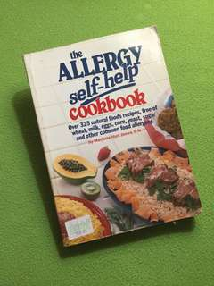 The Allergy Self-Help Cookbook by Marjorie Hurt Jones, R.N.