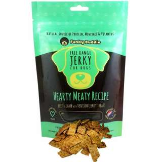 Funky Buddie Hearty Meaty Dog Treats 4oz