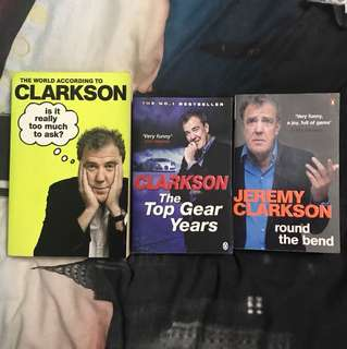 Jeremy Clarkson Book Bundle