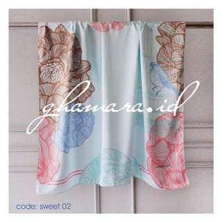 Hijab pastel Sweet 02 mint by ghamara.id