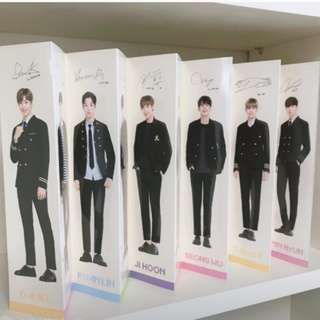 Wanna One IVY Club Folded Poster