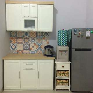 Kitchen Set Minimalis Referensi 35418- Rumah Aksen ID