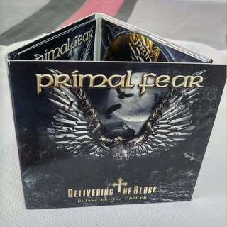 Primal Fear Delivering the Black deluxe cd/dvd set! as good as brand new!
