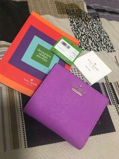 Kate Spade Adalyn Wallet 99% New!!!